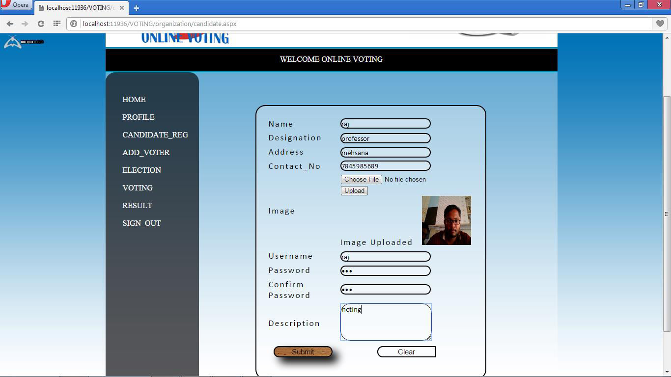 Online Voting System  Developed By: - PDF