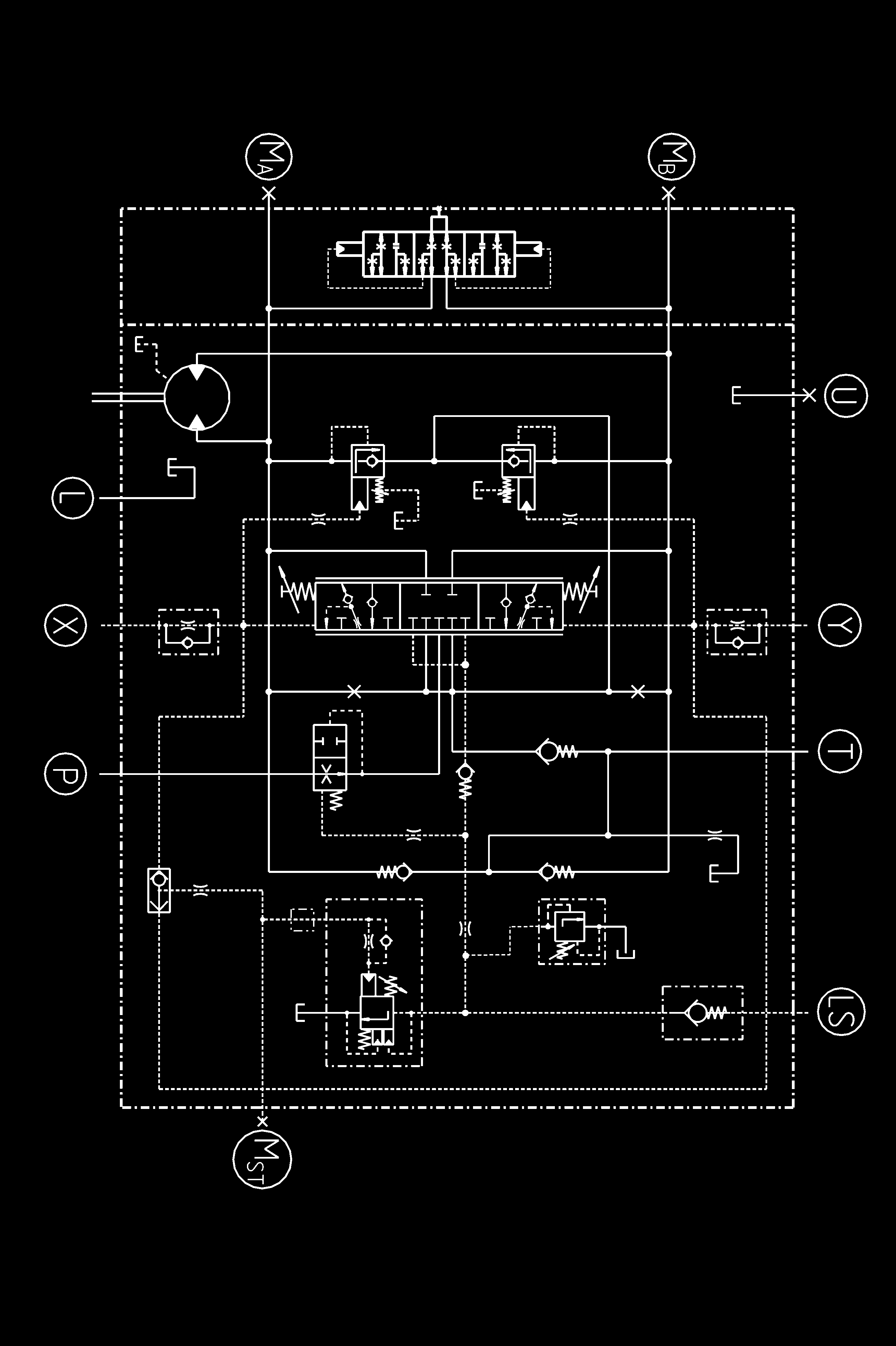 Motor Operated Valve Loop Diagram Trusted Schematics Wiring Hmf A V R 02 Hydraulic Motors For Closed And Open Cooling Tower