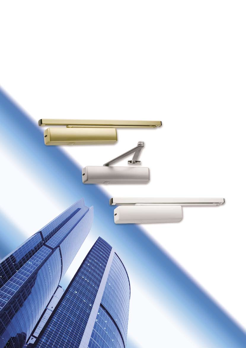 ABLOY DOOR CLOSERS Excatly the right choice - PDF