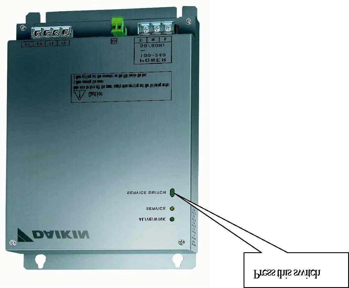 Service Manual Opening The Network Integration Of Vrv Functions Inverter Air Conditioner Renesas Electronics India Switch On Lon Gateway