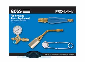 Goss GHT-200Y Torch with GHT-TY Twin Tip