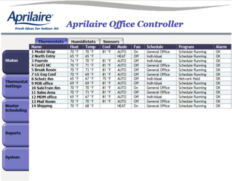 Aprilaire Zoned Comfort Control Product Guide  Making Zoning