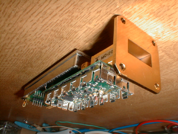 5 GHz Synthesizer for High Speed DATA Link or ATV on 10 GHz