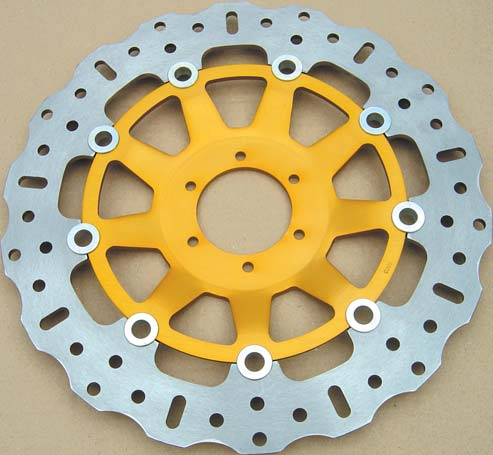 EBC Rear Contour Brake Disc For Kawasaki 2001 ZX7R P6
