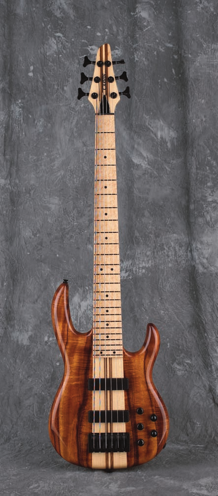 Carvin s 2007 model basses are significantly - PDF