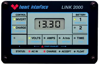 Heart Interface Remote Control Panel Freedom Combi Serie Inverter 12V