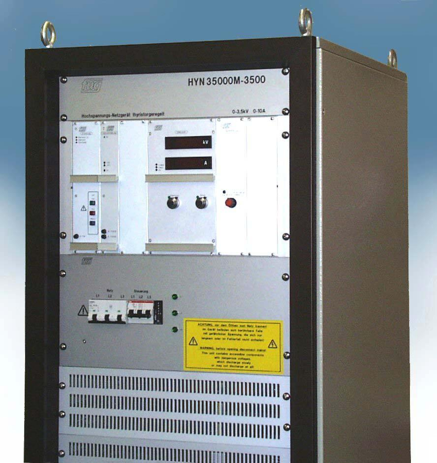 Main Catalogue Dc Power Supplies Fug Elektronik Gmbh Pdf Supply Adapter 2000v High Voltage Low Current Thyristor Regulated Series Hyn From 35 Kv To 20