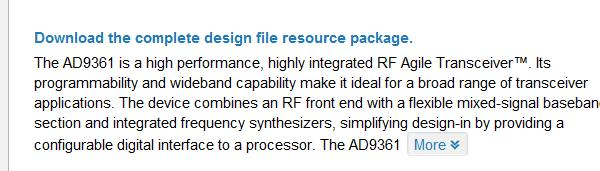 Analog Devices Software Defined Radio - PDF