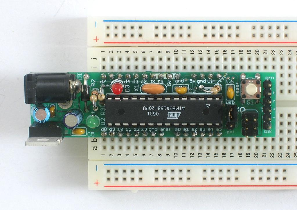List of boards and compatible systems 39 Boarduino ATmega168 ATmega328 Adafruit An inexpensive -Diecimila-