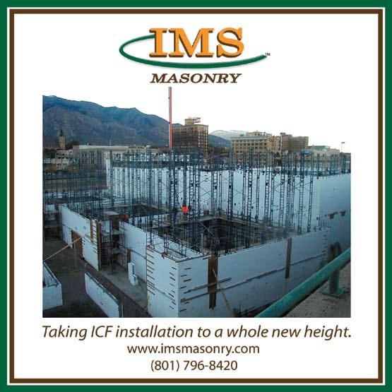 Commercial ICF Construction  Building Tall Walls  Heavy