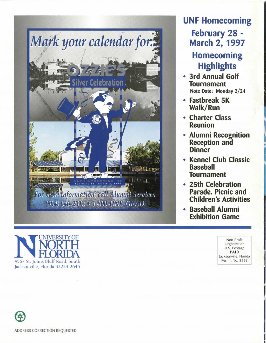 University Of North Florida Journal For Alumni Friends Winter Pdf
