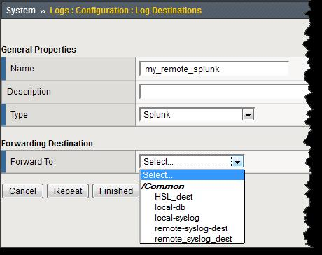 Setting up High Speed Logging (HSL) & Configuring F5 to work with