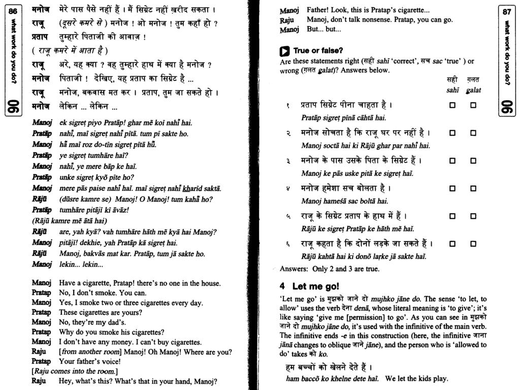 beginner's hindi cover all the basics go at a steady pace build your