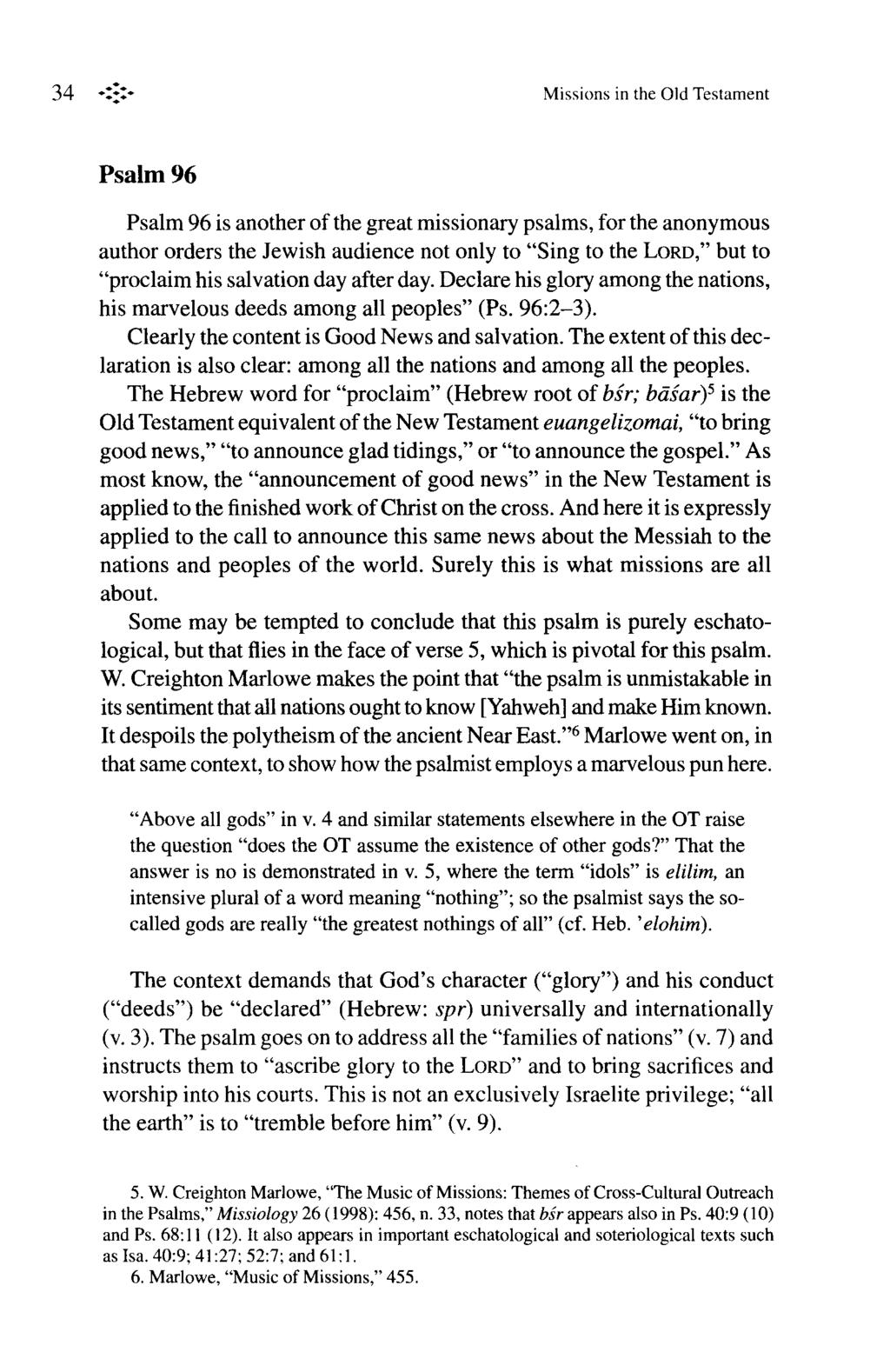 Mission in the Old Testament - PDF