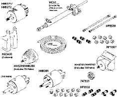 CONTROLS & STEERING  Throttle Controls, Control Cables, Steering