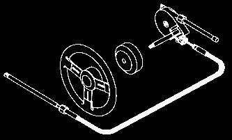 Teleflex SS137 Safe-T Quick Connect Steering System 16/'