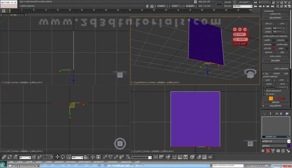 HOW TO MODEL A TABLE AND A CHAIR WITH 3DS MAX - PDF