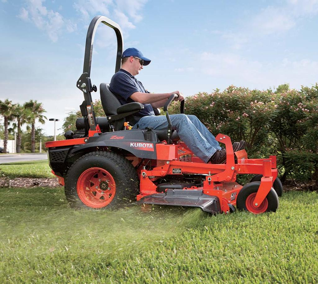 Z700 Series Kubota Zero Turn Mower Pdf Does Anyone Have A Mowing Belt Diagram For John Deere Lx Easy Maintenance Dependability Quick Attach And Detach The