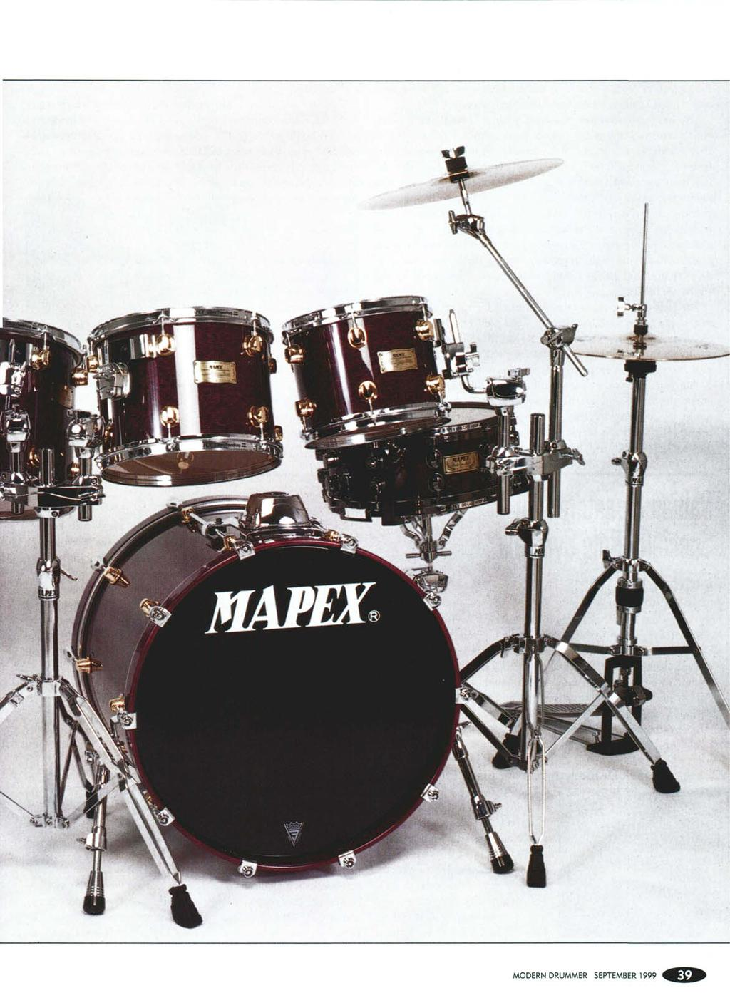 Comfort size toms may be smaller than usual but the bass drum is a massive 18x22 it came fitted with a remo powerstroke 3 batter with a falam slam