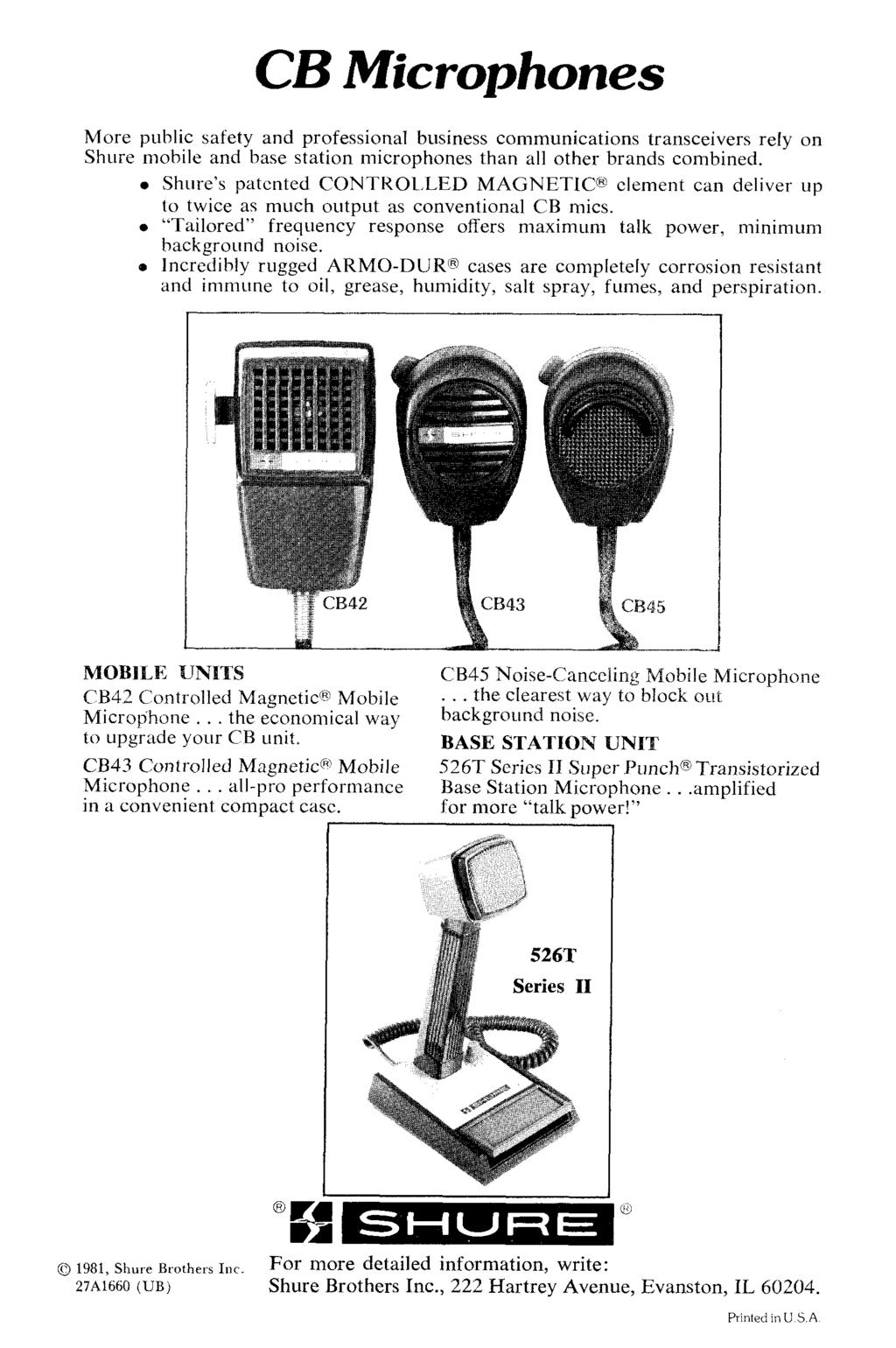 Cb And Amateur Radio Wiring Guide Issue 4 Pdf. Cb Microphones More Public Safety And Professional Business Munications Transceivers Rely On Shure Mobile Base. Wiring. Ward Cb Microphone Wiring Diagram At Scoala.co