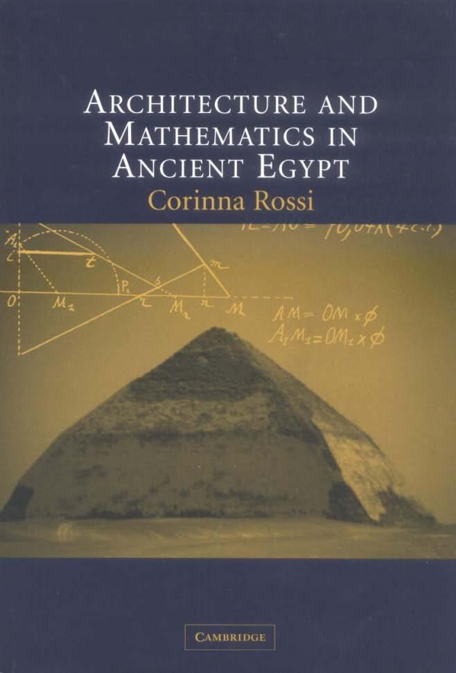 ARCHITECTURE AND MATHEMATICS IN ANCIENT EGYPT - PDF