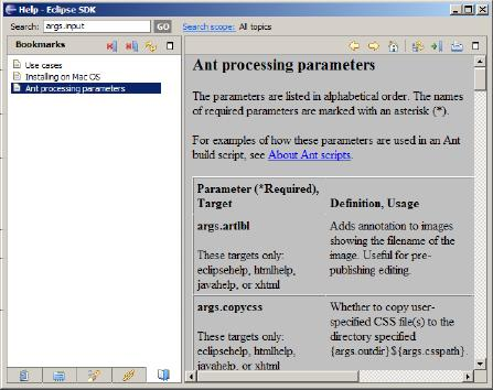 51fa1fab026 This topic describes how to incorporate an existing set of DITA Open Toolkit  source and Ant