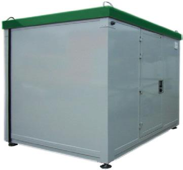 Environmental, Pollution & Security Monitoring Pollution Monitoring Station The measuring container represents an efficient and
