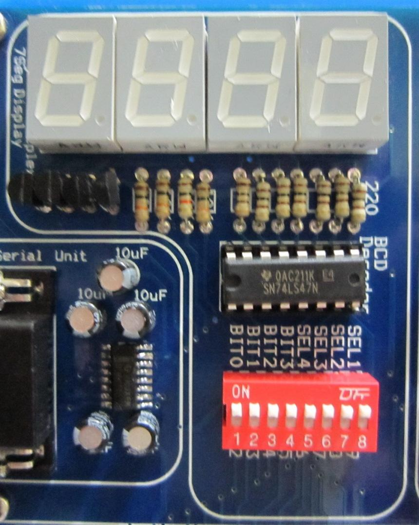 Fares Educational Products Arduino Mega 2560 Kit Brief Datasheet Circuit Diagram To Interface Buzzer With Lpc2148 Arm7 Slicker 4 Seven Segments Display This Unit Contains Four 7seg Digits Connected In Multiplexed Mode
