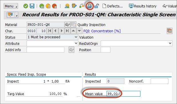 Basic Integrated Quality Inspection Process Using SAP Extended