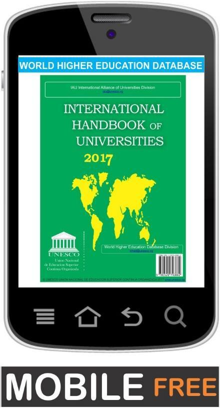 World Higher Education Database Whed Iau Unesco Pdf Free