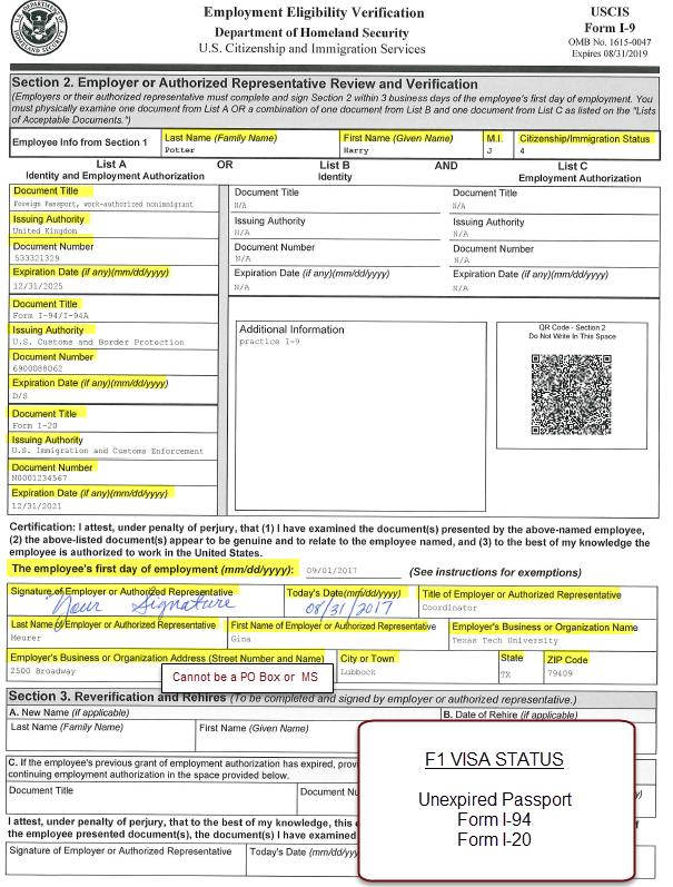 form i-9 section 2 examples  I-12 Process. Acceptable Documents for I-12. I-12 Examples ...