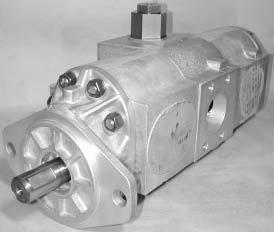 Vickers V Series Single Vane Pump Opposite Inlet Port 4.13 cubic-inch//rev Displacement Right Hand Shaft Rotation 21 gpm Flow Rate 2500 psi Maximum Pressure 1-1//2 CD 61 Flange Inlet 1 CD 61 Flange Outlet
