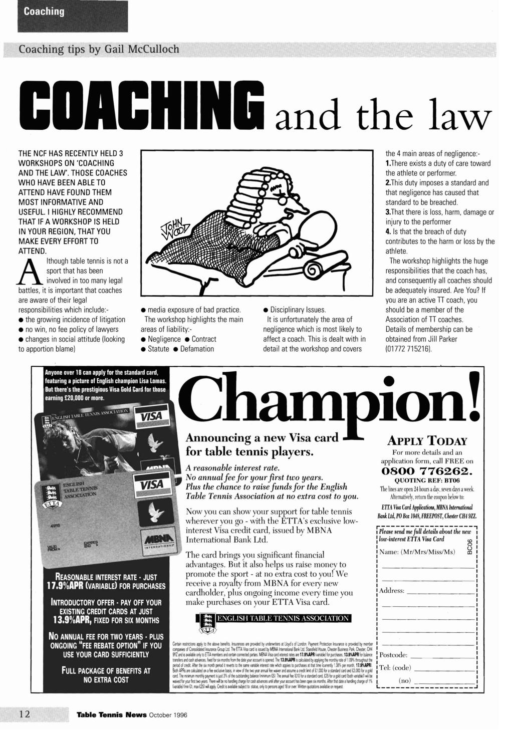Coaching Coaching tips by Gail McCulloch CDACHi and the law THE NCF HAS  RECENTLY HELD 3 a7f9f4101