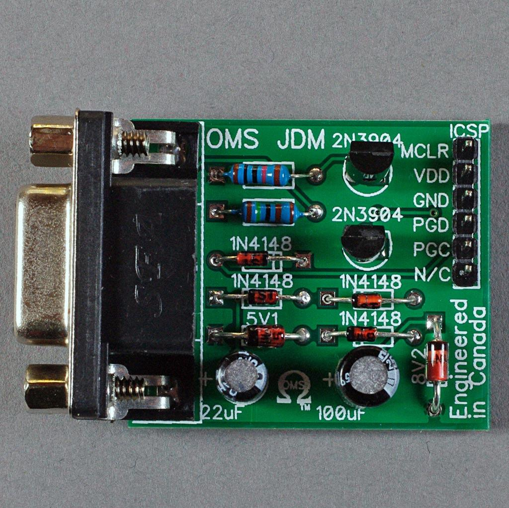 Oms Jdm Type Pic Programmer User Manual Pdf Pic16f73 Based Temperature Indicator And Controller Best Engineering Introduction The Omega Mcu Systems Is A Simple Serial Programming Interface For Microcontrollers