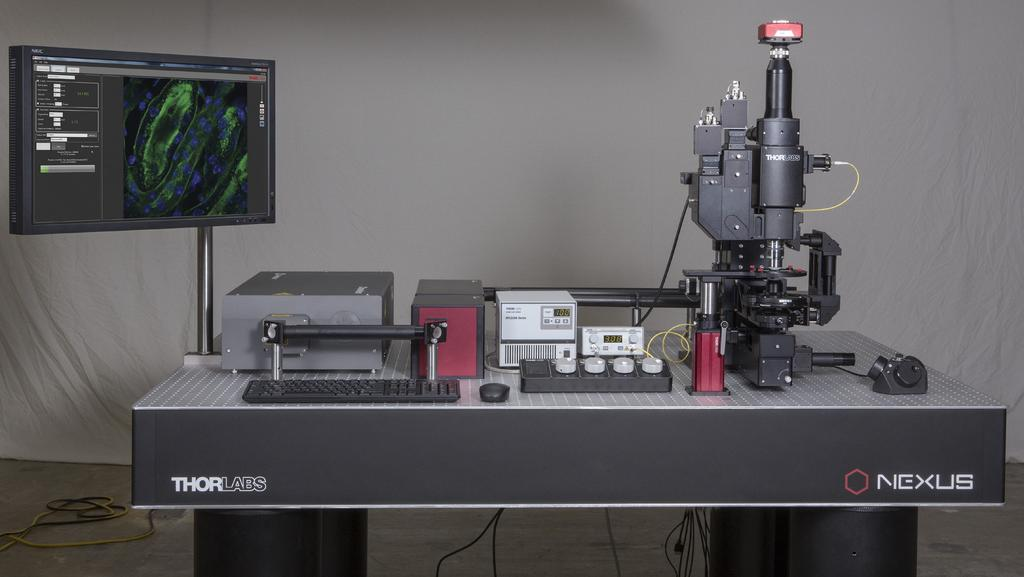 Multiphoton Imaging  Multiphoton Microscopes: Rotating and