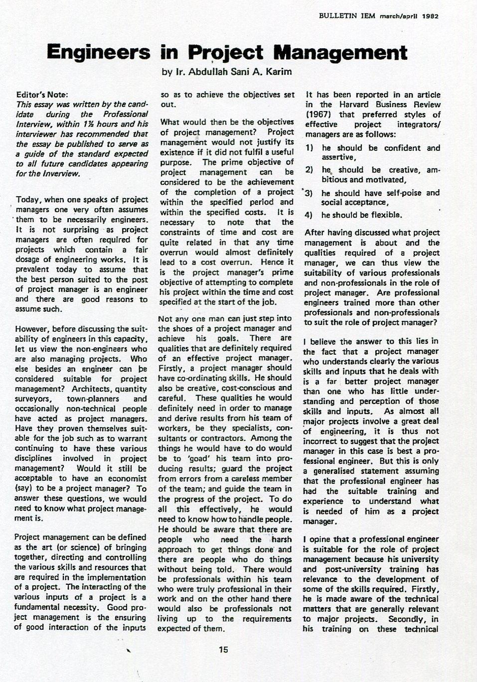 55a Jalan Ss22 19 Damansara Jaya Petaling Selangor Tel Parcel Makanan Pja 1606 57 Nota Bene Attached Is A Copy Of The Relevant Pages 1982 Institution Engineers Malaysia Iem Bulletin That Published My Professional Interview