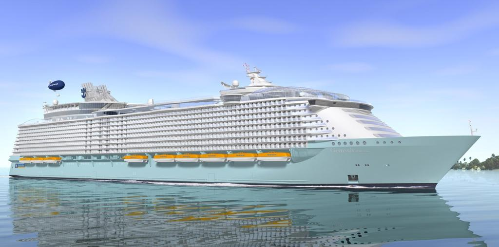 Goal Based Ship Safety Application in Large Cruise Ship
