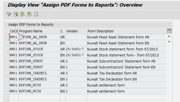 SAP FIN Localized Solution for Kuwait Private Sector - PDF