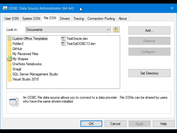 Connect to a MySQL Data Source (SQL Server Import and Export