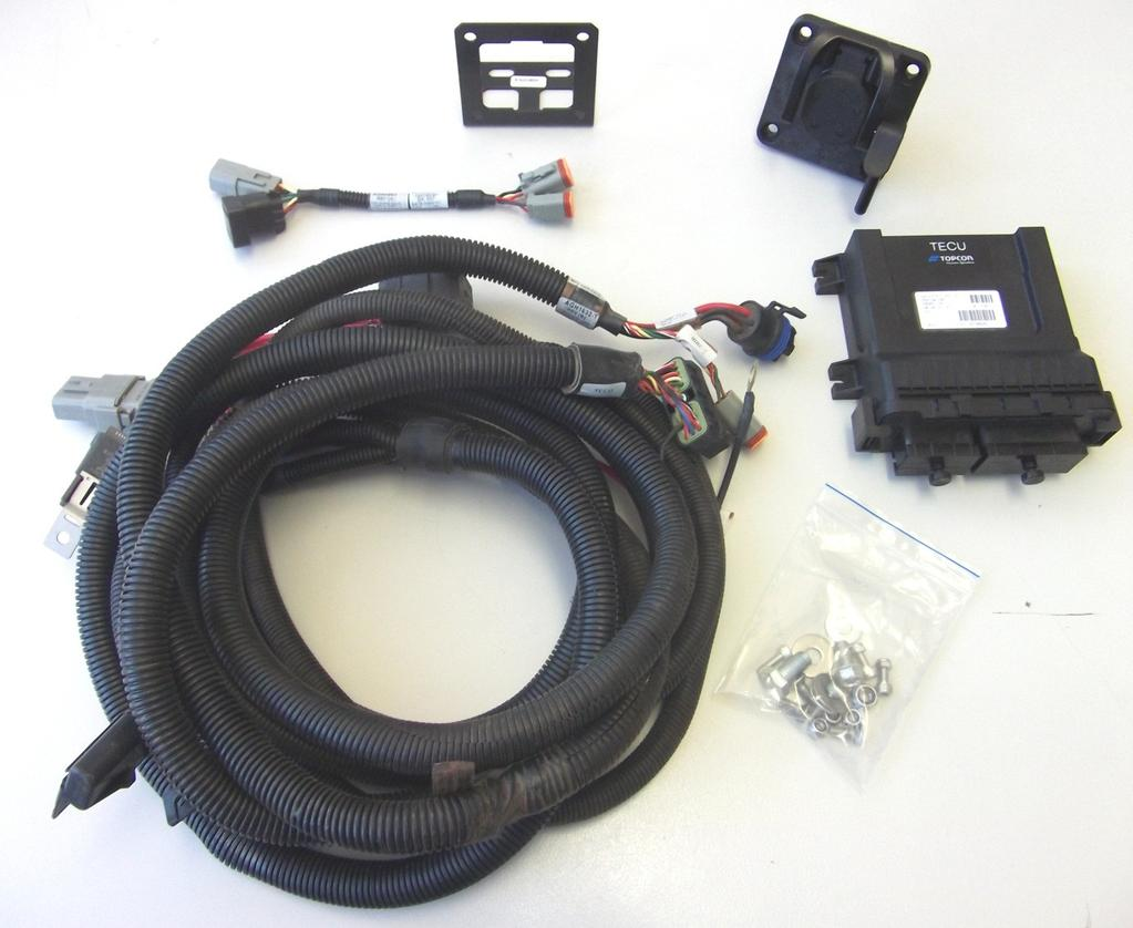 ISOBUS The ISOBUS extension kit is a solution that works with the current  Topcon terminal harness