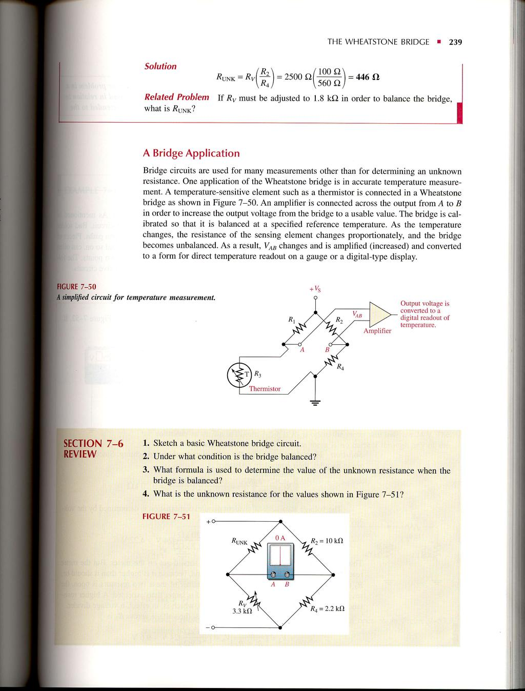 Seriesparallel Circuits Pdf Solving Problems In Series Parallel Requires The Wheatstone Bridce I 239 Solution Runr Fr 2soo