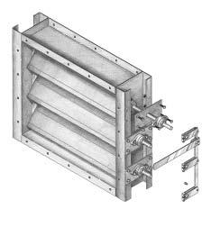 INDUSTRIAL AND TUNNEL VENTILATION DAMPERS  Solutions