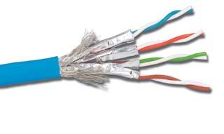 Blue Made in USA 50u Gold Plating 23Awg 22 Ft Cat6A 10G High Performance Snagless UTP Ethernet Patch Cable - UL CSA CMR and 100/% Copper