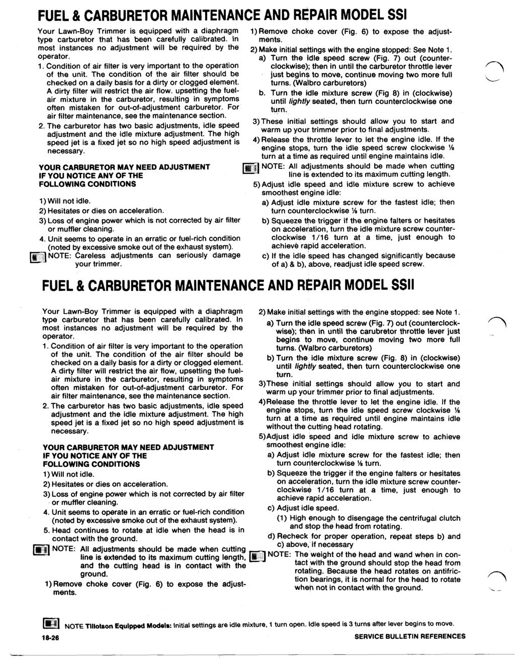 2) Make initial settings with the engine stopped: See Note 1  - PDF