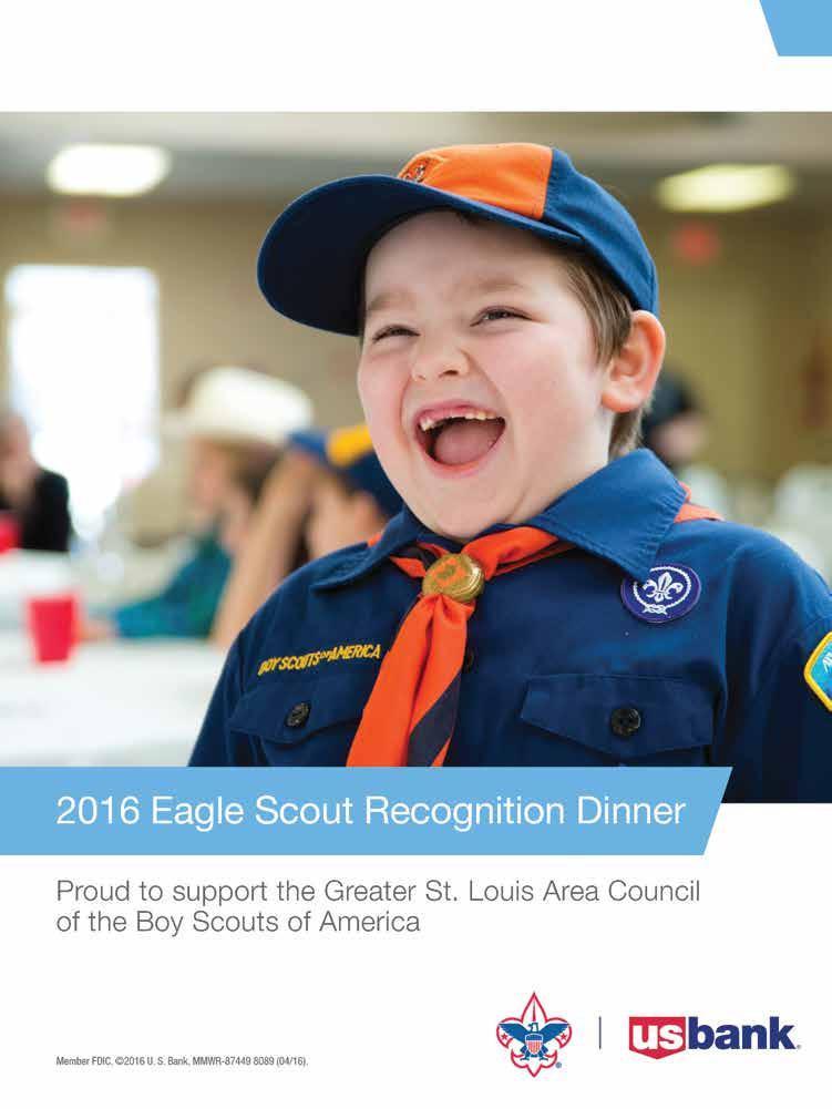 On My HONOR 2016 EAGLE SCOUT RECOGNITION DINNER  L  B
