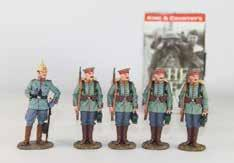 5PCS Axis Allies Miniatures German WWII Soldier Tank Miltary 2010 Figures #28