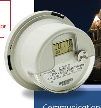 GE/'s Aclara I-210+c Smart Grid Single-Phase Residential Electric Meter