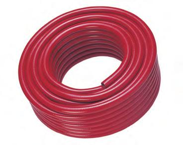 5-30 Metre lengths Clear Re-enforced Braided PVC Hose Various Sizes Available