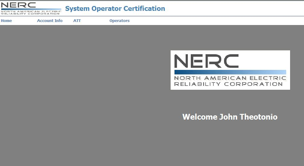 System Operator User Guide System Operator Certification And