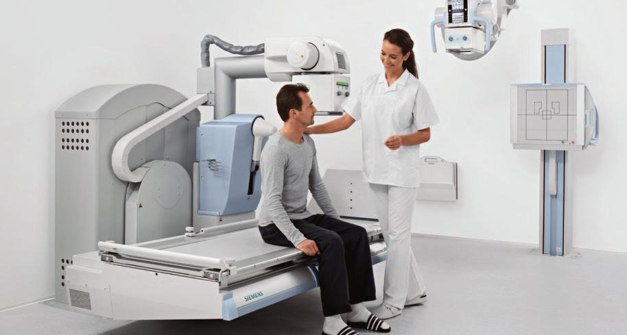 The digital 2-in-1 solution for fluoroscopy and radiography